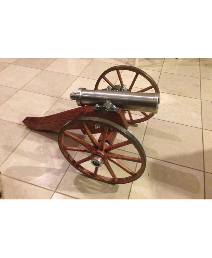 Black Powder Golf Ball 15 Inch Civil War Mountain Howitzer with Carriage